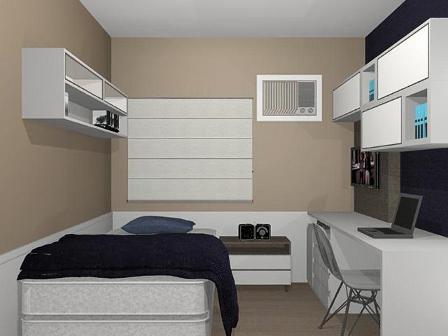 decoracao de interiores quartos de solteiro : decoracao de interiores quartos de solteiro:Projetos de Quarto de Solteiro – Susan Daiane