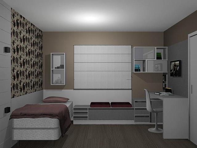 decoracao de interiores quartos de solteiro : decoracao de interiores quartos de solteiro:Solteiro Quarto Completo De Solteiro Quarto Solteiro Roupeiro Canto